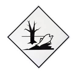 Фото 1 Наклейка предупреждающая «Вещество, опасное для окружающей среды»