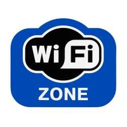 Фото 1 Інформаційна наклейка WI-FI ZONE