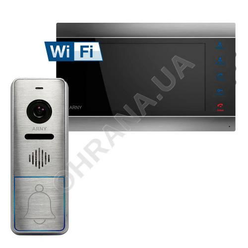 Фото Комплект Wi-Fi IP видеодомофона ARNY AVD-720M+вызывная панель AVP-NG420