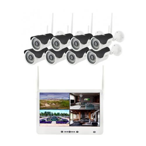 Фото Wi-Fi комплект беспроводного видеонаблюдения DVR KIT Full HD UKC CAD-1308