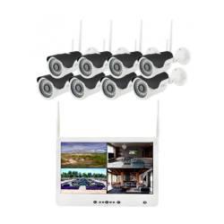 Фото 1 Wi-Fi комплект беспроводного видеонаблюдения DVR KIT Full HD UKC CAD-1308