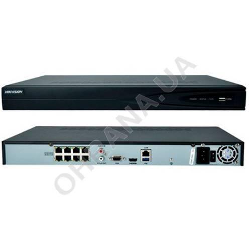 Фото 8-ch мережевий PoE відеореєстратор Hikvision DS-7608NI-Q1 / 8P