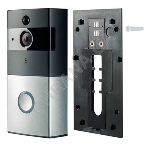 Фото WI-FI IP видео-дверной звонок LightVision VLC-01IVP (Silver)