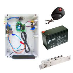 Фото 1 Комплект скрытого замка Smart System Lock GSM