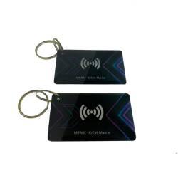 Фото 1 Ключ Proxymity key EM + Mifare прямокутний