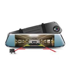 """Фото 1 7"""" Зеркало регистратор + камера заднего вида 1080P"""