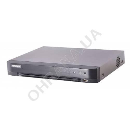 Фото 8-ch Turbo HD Acusense видеорегистратор iDS-7208HUHI-M1/S