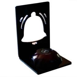 Фото 1 Підставка для кнопки виклику персоналу Дзвіночок H13 (чорний)