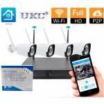 Фото Full HD Wi-Fi Комплект видеонаблюдения UKC DVR KIT CAD-6673WiFi на 4 камеры