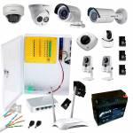 Фото Комплект видеонаблюдения для частного дома 2 MP WiFi + SD
