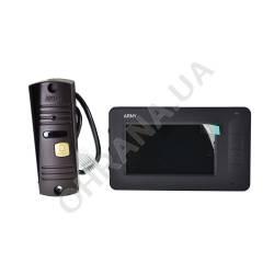 Фото 2 Комплект видеодомофона ARNY AVD-4005 Чёрный