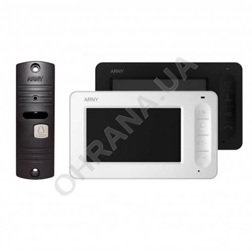 Фото Комплект видеодомофона ARNY AVD-4005 Чёрный