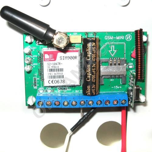 Фото Охранная сигнализация GSM-mini Rk