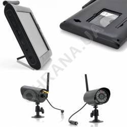 Фото 2 Комплект беспроводного видеонаблюдения KIT-HD72