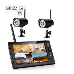 Фото 1 Комплект беспроводного видеонаблюдения KIT-HD72