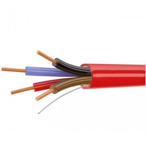 Фото Огнестойкий сигнальный кабель КСВВнг-LS 4х0.4 медь