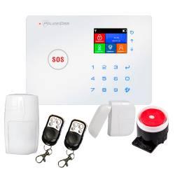Фото 1 Комплект охранной Wi-Fi GSM сигнализации PoliceCam 68W PRO