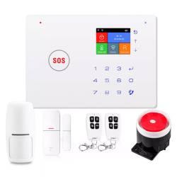 Фото 1 Комплект охранной Wi-Fi GSM сигнализации PoliceCam 68W BASE