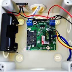 Фото 5 Комплект автономной gsm-сигнализации Контакт с сиреной