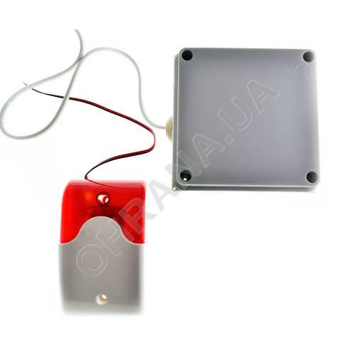 Фото Комплект автономной gsm-сигнализации Контакт с сиреной