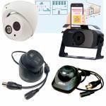 Фото HD CVI комплект видеонаблюдения охраны периметра из 4х 2МП камер с микрофоном и 4х канального DVR XVR7104E-4KL-X