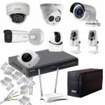 Фото Комплект видеонаблюдения для частного дома 4 MP Smart NVR Ethernet