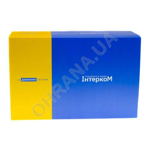 Фото Комплект домофона Intercom IM-01L Белый + Intercom IM-10