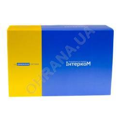 Фото 2 Комплект домофона Intercom IM-01L Белый + Intercom IM-10