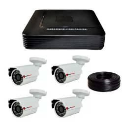Фото 1 1 Мп Комплект видеонаблюдения DVR-1004AHD/PC-453AHD1MP