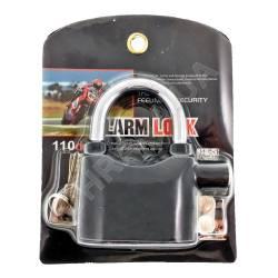 Фото 5 Навесной замок с датчиком вибрации и сиреной Alarm Lock (сигнализация на двери)