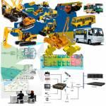 Фото Комплект системы наблюдения за распределёнными транспортными средствами