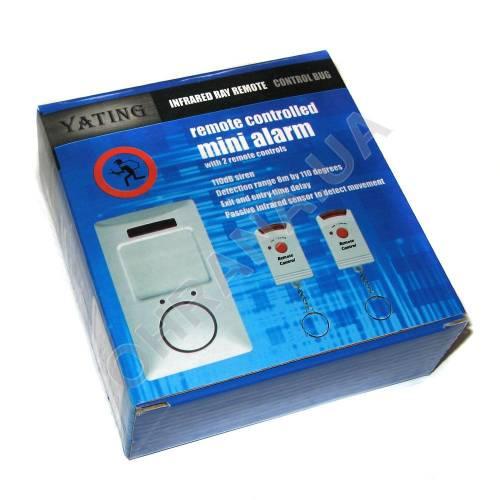 Фото Сенсорная сигнализация с датчиком движения и сиреной Sensor Alarm v2