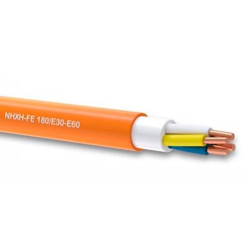 Фото Огнестойкий силовой кабель NHXH FE 180 E30 2x1,5 медь