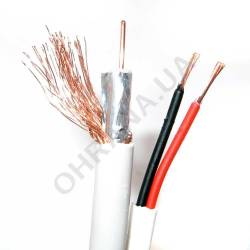 Фото 2 Комбинированный кабель Trinix RG59+2*0,5 CCA