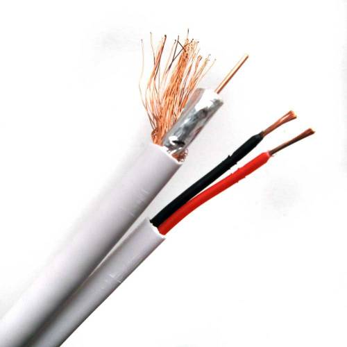 Фото Комбинированный кабель Trinix RG59+2*0,5 CCA