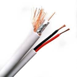 Фото 1 Комбинированный кабель Trinix RG59+2*0,5 CCA