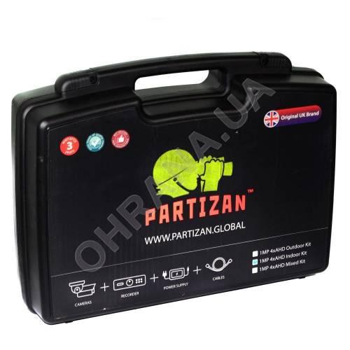 Фото 1 Мп Partizan Mixed Kit 1MP 4xAHD