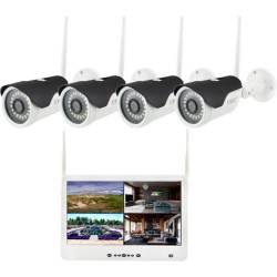 Фото 1 Wi-Fi комплект беспроводного видеонаблюдения DVR KIT Full HD UKC CAD-1304