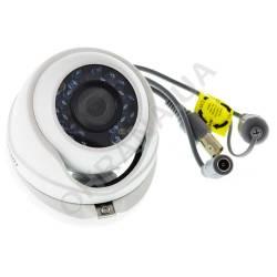 Фото 3 2 Mp TVI/AHD/CVI/CVBS Відеокамера Hikvision DS-2CE56D0T-IRMF (3.6 мм)