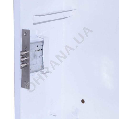 Фото Антивандальный ящик БК-550-3U-з-пенал усиленный ст. 1,8 мм