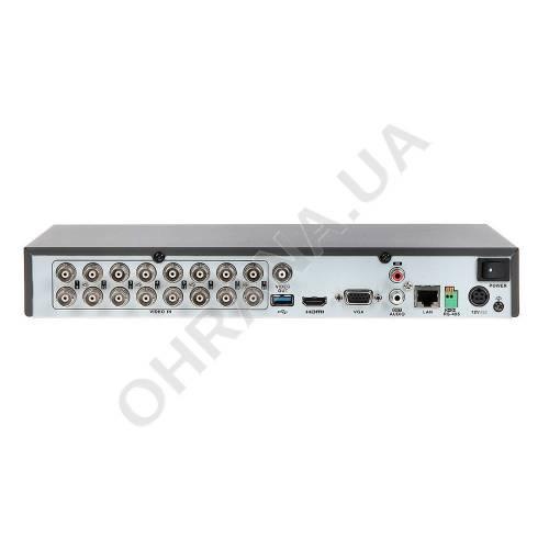 Фото 16-ch Turbo HD X Acusense видеорегистратор Hikvision iDS-7216HQHI-M1/S