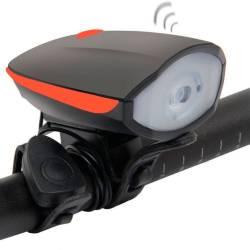 Фото 1 Велофара с сигналом на батарейках