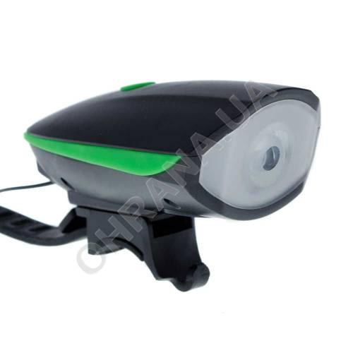 Фото Велофара с сигналом на батарейках