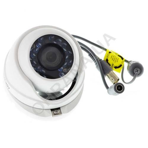 Фото 2 Mp TVI/AHD/CVI/CVBS Видеокамера Hikvision DS-2CE56D0T-IRMF (2.8 мм)