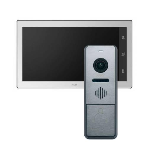 Фото Комплект Wi-Fi IP відеодомофона ARNY AVD-1060 2 Mp + виклична панель AVP-NG440 2Mp
