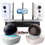 Фото 4 камерный внутренний Wi-Fi комплект 4 Мp видеонаблюдения DH-NVR4104HS-W-S2/ DH-IPC-K46P / DH-IPC-A46P