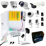 Фото Комплект видеонаблюдения для частного дома 4 MP WiFi + SD