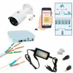 Фото Комплект відеоспостереження охорони периметра на базі 2 МП IP камери DH-IPC-HFW1230SP-S2 (2.8 мм) і реєстратора DH-NVR4104-4KS2
