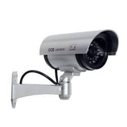 Фото 3 Муляж видеокамеры Цилиндр ИК слайдер (серый)
