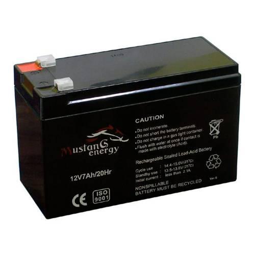 Фото Аккумуляторная батарея Mustang Energy 12В 7 Aхч